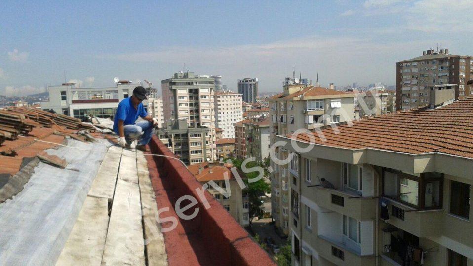 Yenisahra Ahmet Bey - Çelik Çatı Yapımı