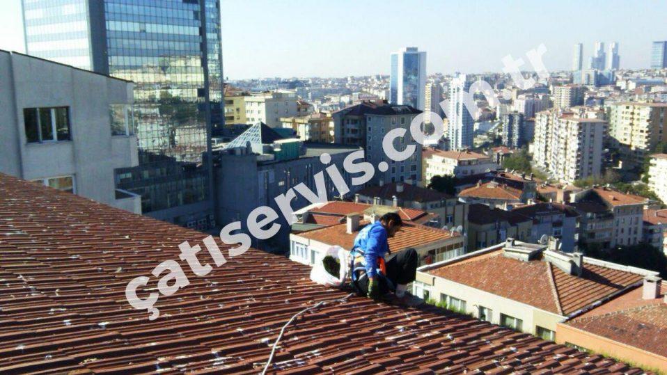 Beşiktaş Okul ve hastane Çatı Bakımı