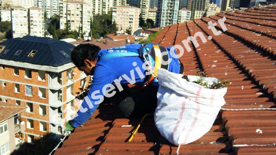 Şişli Çatı Dere Oluk Temizliği