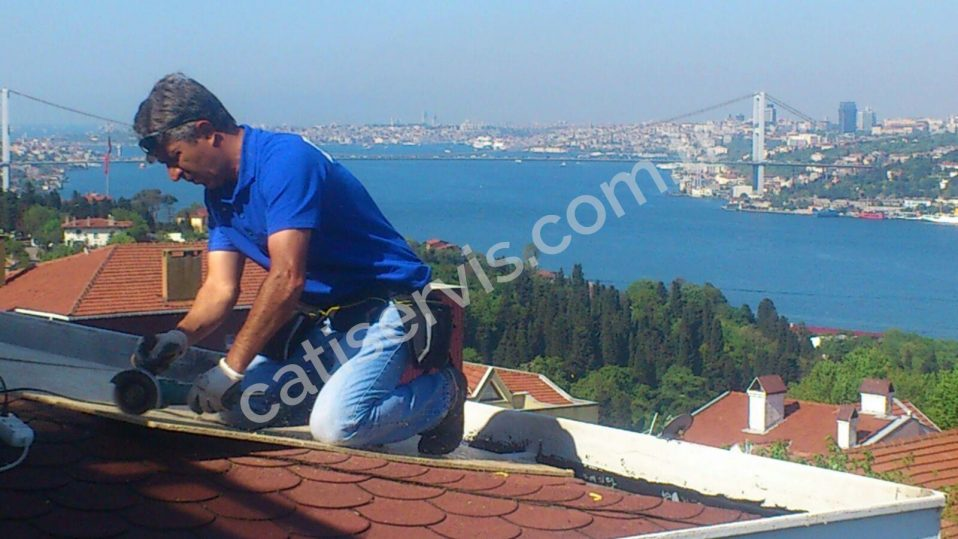 Seyfi Dursunoğlu Evi Shingle Çatı Yapımı